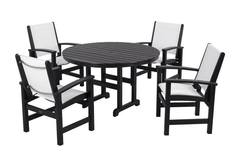 Polywood Dining Lack White Sling 1115