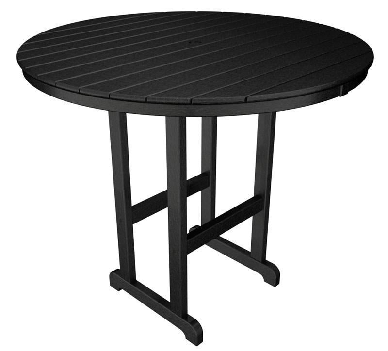 Bar Table Black Round 887 Product Photo