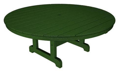 "Polywood RCT248GR Round 48"" Conversation Table in Green - PolyFurnitureStore"