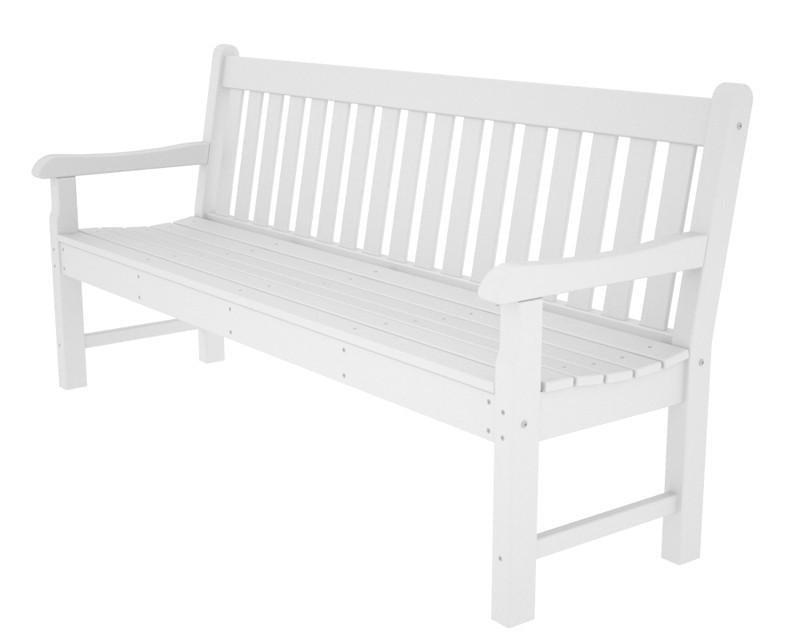 Polywood Bench White Rockford