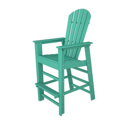 Polywood SBD30AR South Beach Bar Chair in Aruba - PolyFurnitureStore