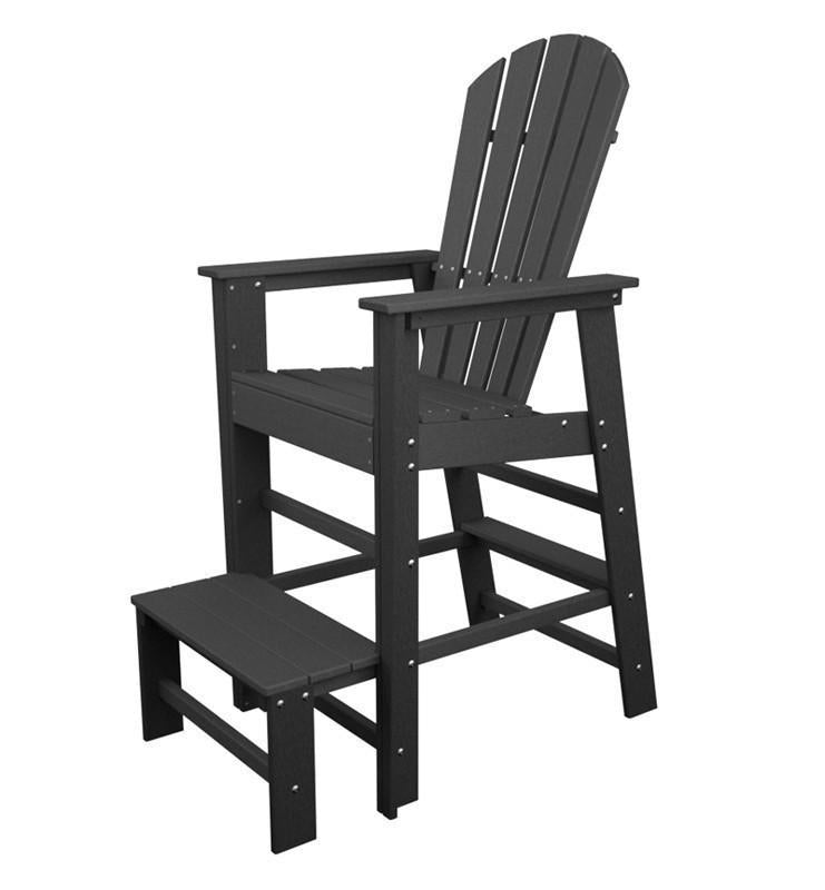 South Beach Lifeguard Chair Slate Grey 4639 Product Photo