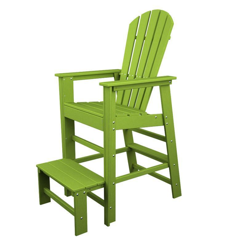 Beach Lifeguard Chair Lime South 3120 Product Photo