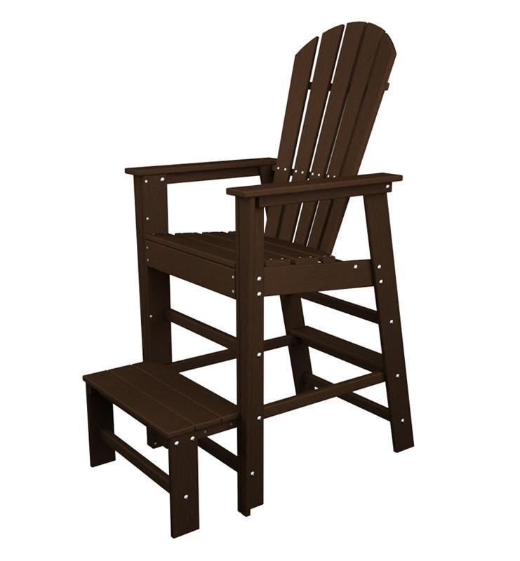 South Beach Lifeguard Chair Mahogany 4639 Product Photo