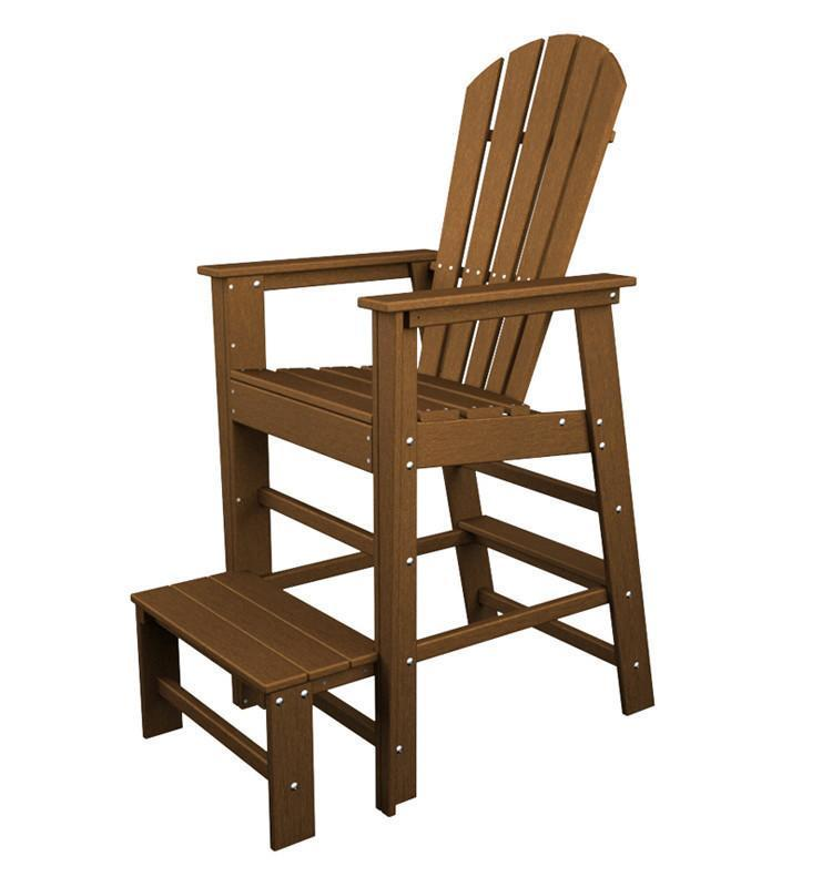 South Beach Lifeguard Chair Teak 4639 Product Photo