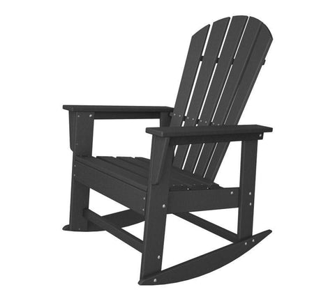 Polywood SBR16GY South Beach Rocker in Slate Grey - PolyFurnitureStore