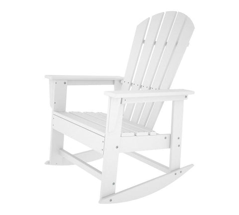 Polywood SBR16WH South Beach Rocker in White - PolyFurnitureStore