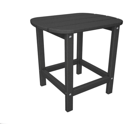 "Polywood SBT18GY South Beach 18"" Side Table in Slate Grey - PolyFurnitureStore"