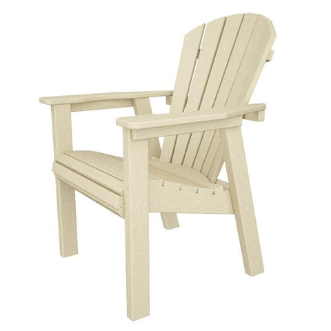Polywood SHD19SA Seashell Casual Chair in Sand - PolyFurnitureStore