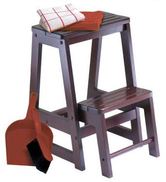 Winsome 94022 Double Step Stool - BarstoolDirect.com