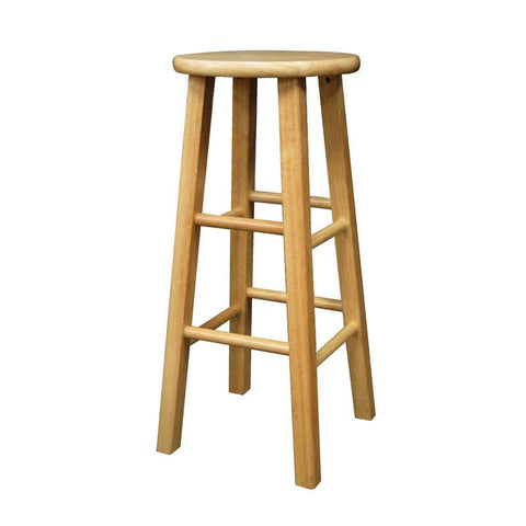 "Winsome Wood 83230 Set of 2, Square Leg 29"" Stool, Assembled - BarstoolDirect.com"
