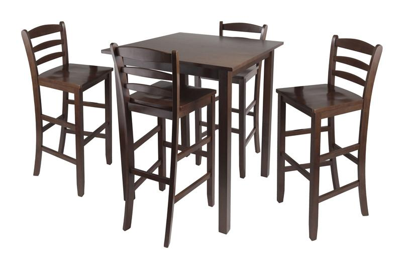 Pc High Table Ladder Back Stools Parkland 3095 Product Photo