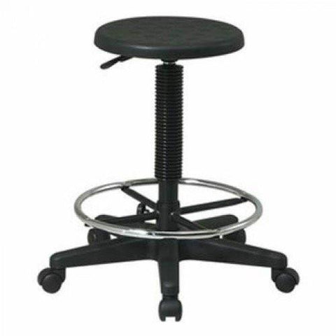 Office Star Work Smart KH507 Stool with Adjustable Footrest - BarstoolDirect.com