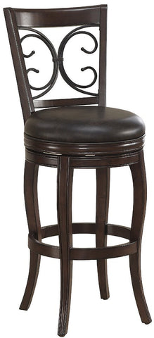 American Heritage Billiards 126106 Taranto Counter Height Stool - Peazz Furniture