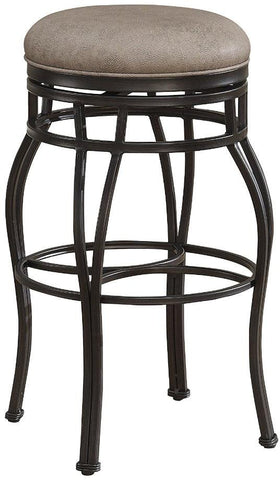 American Heritage Billiards 126112 Bella Backless Counter Height Stool in Aged Sienna - BarstoolDirect.com