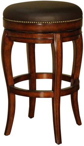 American Heritage Billiards 126866 Santos Backless Counter Height Stool - BarstoolDirect.com