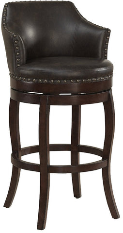 American Heritage Billiards 130105 Bailey Bar Height Stool - BarstoolDirect.com
