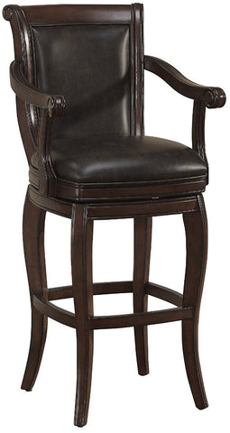American Heritage Billiards 130107 Verona Bar Height Stool - BarstoolDirect.com