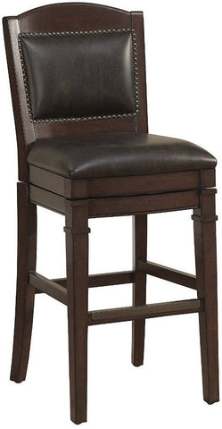 American Heritage Billiards 130118 Artesian Bar Height Stool in Tobacco - Peazz Furniture