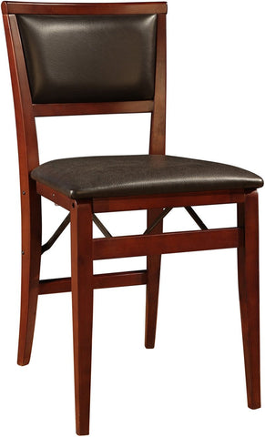 Linon 01821ESP-02-AS-U Keira Pad Folding Chair - BarstoolDirect.com