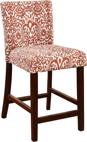 Linon 0225lav01u Morocco Counter Stool Lava