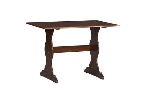 Linon 90368WAL-01-KD-U Chelsea Walnut Table - BarstoolDirect.com