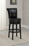 American Heritage Billiard 130156 Chelsea Bar Height Stool in Black - BarstoolDirect.com - 1