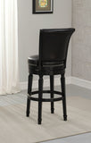 American Heritage Billiard 130156 Chelsea Bar Height Stool in Black - BarstoolDirect.com - 2