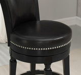 American Heritage Billiard 130156 Chelsea Bar Height Stool in Black - BarstoolDirect.com - 3
