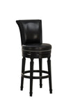 American Heritage Billiard 130156 Chelsea Bar Height Stool in Black - BarstoolDirect.com - 4