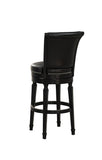 American Heritage Billiard 130156 Chelsea Bar Height Stool in Black - BarstoolDirect.com - 5