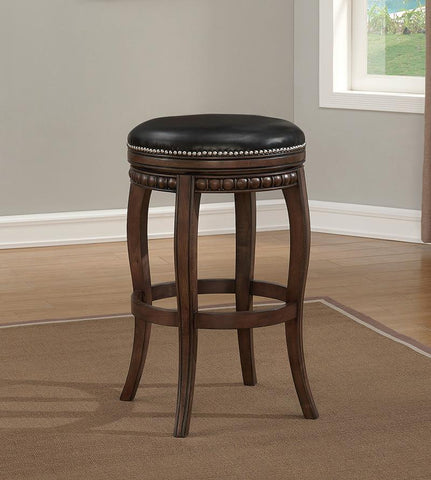 American Heritage Billiard 130167 Alonza Bar Height Stool in Pewter - BarstoolDirect.com - 1