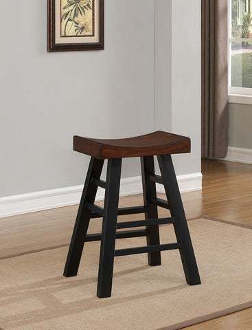 American Heritage Billiard 130174 Cheyenne Bar Height Stool - BarstoolDirect.com - 1