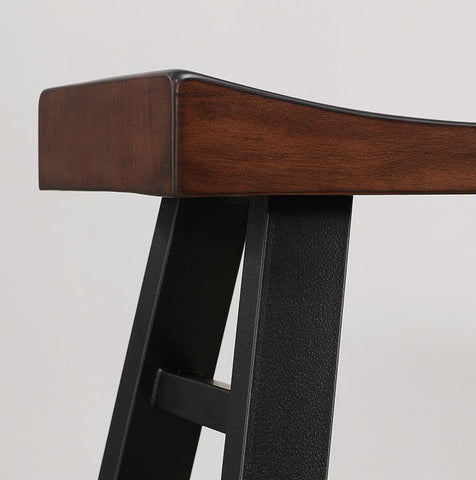 American Heritage Billiard 130174 Cheyenne Bar Height Stool - BarstoolDirect.com - 3