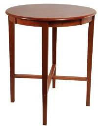 "Boraam 70564 42"" Round Pub Table, ES Cherry, 36"" DIA - BarstoolDirect.com"