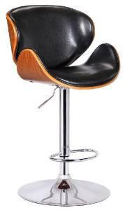 Boraam 99530 Osa Adjustable Swivel Stool, Black - BarstoolDirect.com