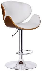 Boraam 99531 Osa Adjustable Swivel Stool, White - BarstoolDirect.com
