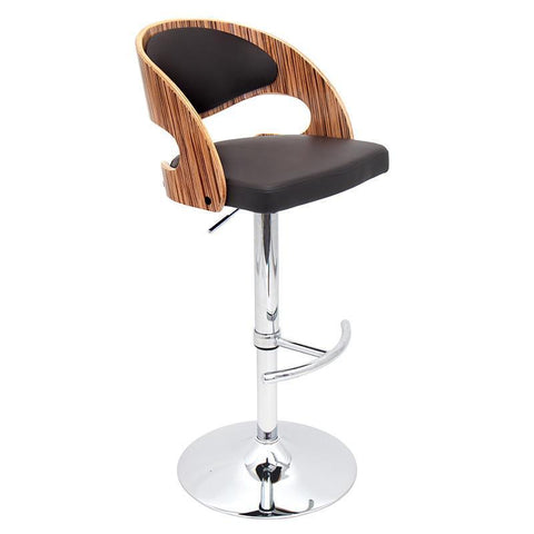 LumiSource BS-JY-PN ZB+BN Pino Bar Stool - BarstoolDirect.com