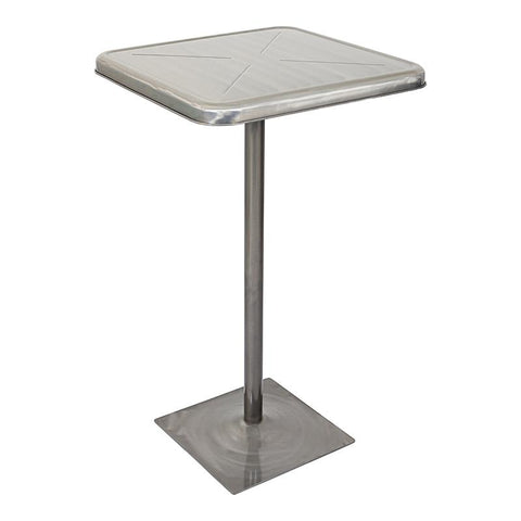LumiSource BT-TW-INDY SV Indy Bar Table - BarstoolDirect.com