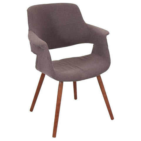 LumiSource CHR-JY-VFL MBN Vintage Flair Chair - Peazz.com