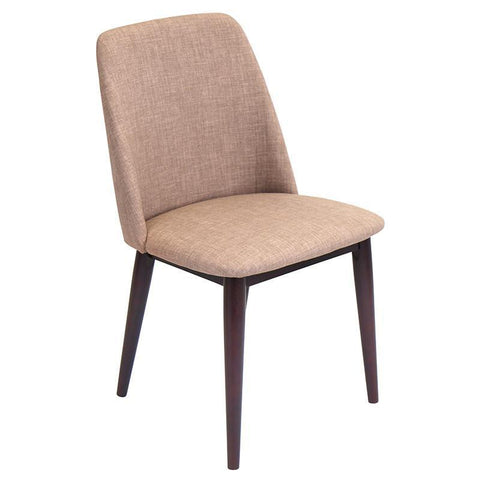LumiSource CHR-TNT MBN+E2 Tintori Dining Chair - BarstoolDirect.com