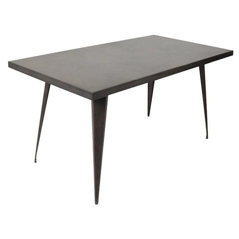 "LumiSource DT-TW-AU6032 AN Austin Dining Table 59"" x 32"" - Peazz.com"