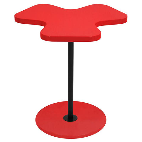 LumiSource TB-CLOVER R Clover Side Table - Peazz.com