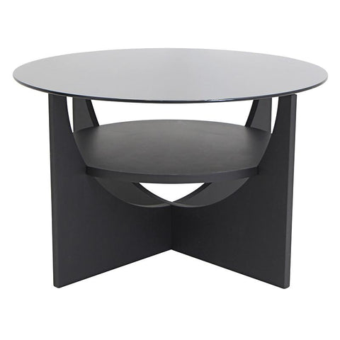 LumiSource TB-CTU WNG U-Shaped Coffee Table - Peazz.com