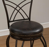 American Heritage Billiard 126144 Caprice Counter Height Stool - BarstoolDirect.com - 2