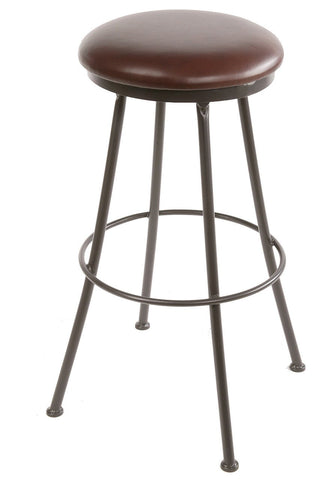 "Stone County Ironworks 900-439-LPC Monticello Barstool 25"" (with swivel) - BarstoolDirect.com"