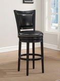 American Heritage Billiard 130164 Shae Bar Height Stool in Black - BarstoolDirect.com - 1