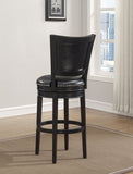 American Heritage Billiard 130164 Shae Bar Height Stool in Black - BarstoolDirect.com - 2
