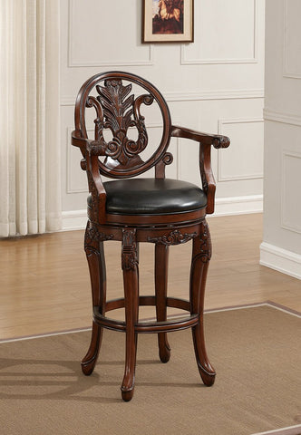 American Heritage Billiard 130150 Renata Bar Height Stool - BarstoolDirect.com - 1