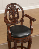 American Heritage Billiard 130150 Renata Bar Height Stool - BarstoolDirect.com - 3